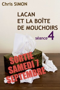 Séance 4, sortie le 7 septembre sur Amazon (Tous Pays)
